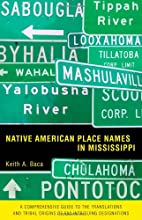 Native American Place Names in Mississippi…