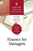 Finance for Managers by Harvard Business…