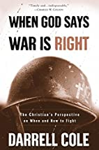 When God Says War Is Right: The Christians…