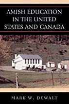 Amish Education in the United States and…