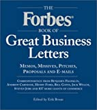 The Forbes Book of Great Business Letters by…