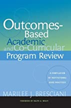 Outcomes-Based Academic and Co-Curricular…