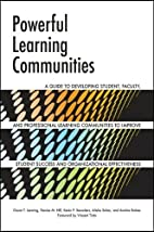 Powerful Learning Communities: A Guide to…