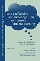 Using Reflection and Metacognition to…