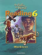 As Full As the World: Reading 6 for…