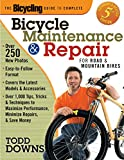 DOWNS, TODD: The Bicycling Guide to Complete Bicycle Maintenance & Repair: For Road & Mountain Bikes