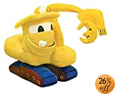 MerryMakers Goodnight, Goodnight, Construction Site Plush Toy, 11-Inch