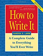 How to Write It: A Complete Guide to…