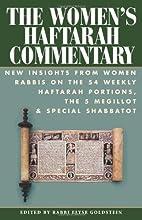 The Women's Haftarah Commentary: New…