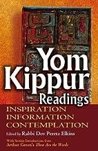 Yom Kippur Readings: Inspiration,…
