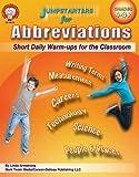 Armstrong, Linda: Jumpstarters for Abbreviations, Grades 4 - 8