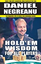 Hold'em Wisdom for all Players by Daniel…