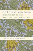 Of Poetry and Song: Approaches to the…