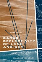 Radar reflectivity of land and sea by…