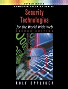 Security Technologies for the World Wide…