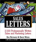 Reynard, Sue: Streetwise Sales Letters: 2,500 Professionally Written Sales and Marketing Letters with CDROM
