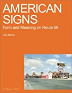 American Signs: Form and Meaning on Rte. 66…