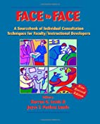 Face to Face: A Source Book of Individual…