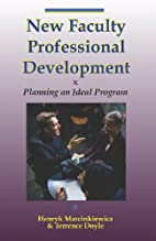 New Faculty Professional Development by…