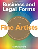 Crawford, Tad: Business And Legal Forms for Fine Artists (3rd Edition)