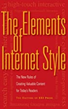The Elements of Internet Style: The New…
