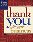 Thank You For Your Business (Thank You…