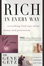 Rich in Every Way: Everything God says about…