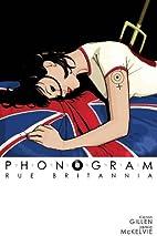 Phonogram, Vol. 1: Rue Britannia by Kieron…