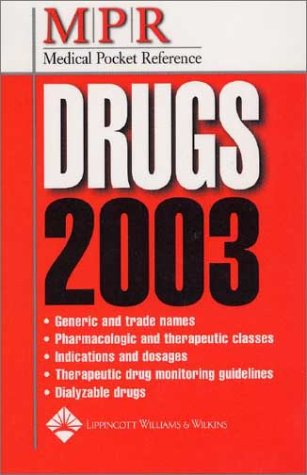 medical-pocket-reference-drugs-2003