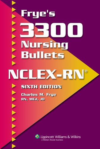 fryes-3300-nursing-bullets-for-nclex-rn