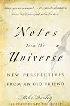Notes from the Universe: New Perspectives…