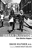 Hilfiker, David: Urban Injustice: How Ghettos Happen