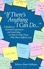If There's Anything I Can Do? by Rebecca…