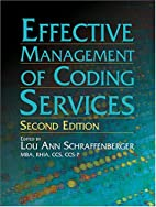 Effective management of coding services by…