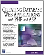Creating Database Web Applications with PHP…