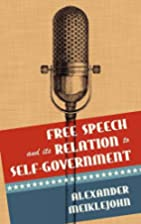 Free Speech and its Relation to…