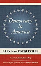 Democracy in America (abridged) by Alexis de&hellip;