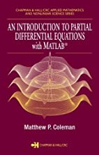 An Introduction to Partial Differential…