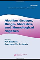 Abelian Groups, Rings, Modules and…
