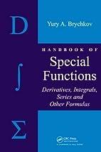 Handbook of Special Functions: Derivatives,…