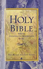Holy Bible, With The…