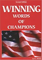 Winning Words of Champions