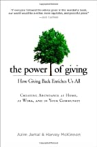The Power of Giving: How Giving Back…