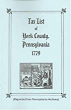 Tax List of York County, Pennsylvania, 1779…