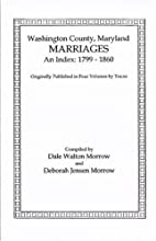 Marriages of Washington County, Maryland. An…