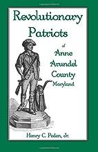 Revolutionary Patriots of Anne Arundel…