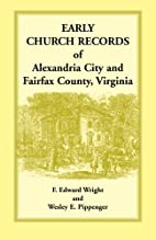 Early Church Record of Alexandria City and…