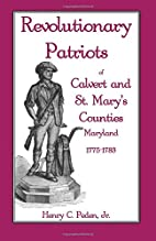 Revolutionary Patriots of Calvert and St.…