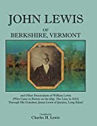 John Lewis of Berkshire, Vermont, and Other…