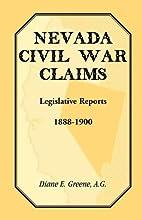 Nevada Civil War Claims: Legislative…